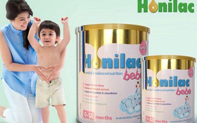 Sữa Honilac Bebe với hàm lượng Sắt, Kẽm, axit folic cân bằng và phù hợp nhu cầu của trẻ, từ đó giúp hạn chế tình trạng thiếu máu một cách rõ rệt.