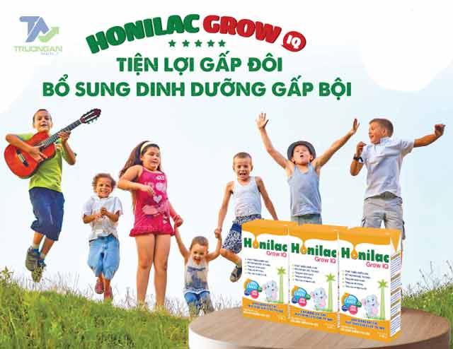 Tác dụng của sữa bột pha sẵn Honilac Grow IQ