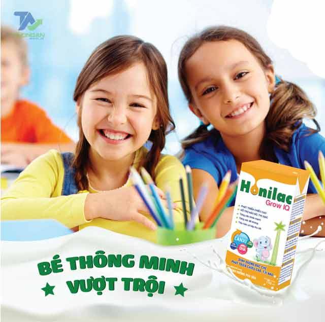 Giá sữa bột pha sẵn Honilac Grow IQ bao nhiêu?