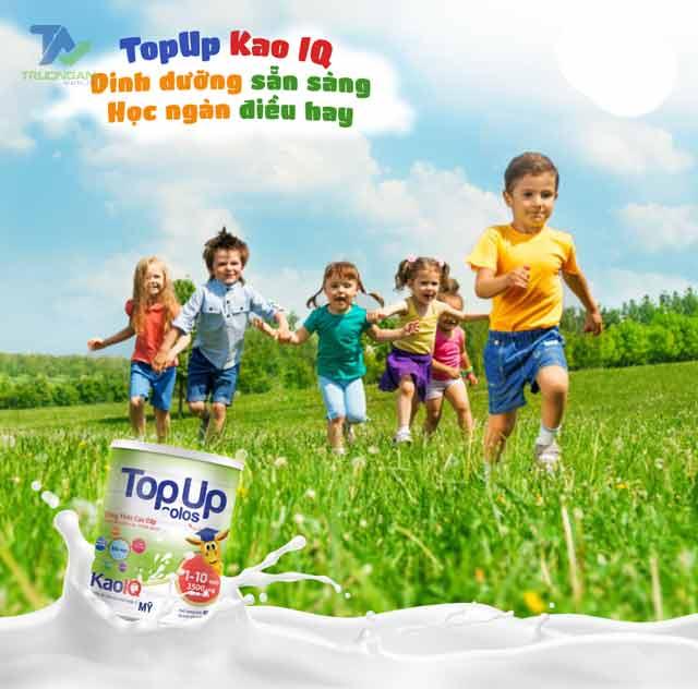 Sữa Topup Colos Kao IQ – Phát triển trí não toàn diện cho trẻ