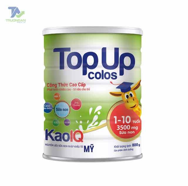Sữa Topup Colos Kao IQ – Trẻ phát triển toàn diện – Cha mẹ an tâm