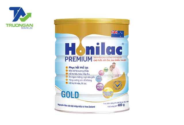 Honilac Premium Gold được nghiên cứu và sản xuất dành cho đối tượng là người cao tuổi